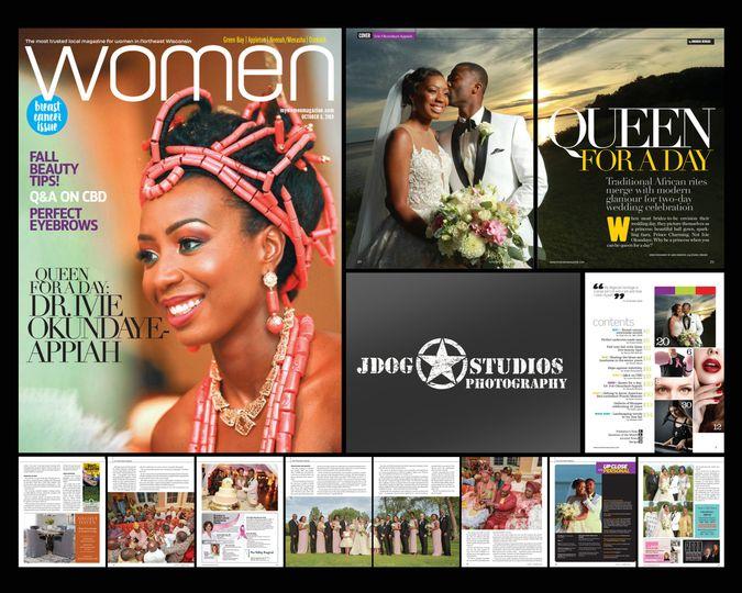 Women Magazine cover & spreads