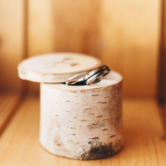 Vermont wedding ring box