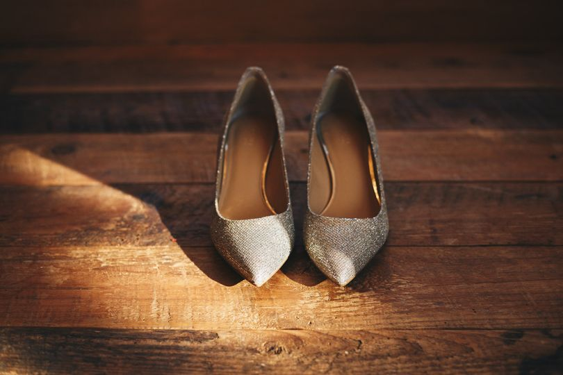 Vermont wedding shoes