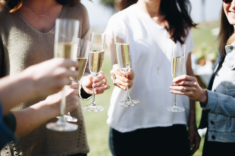Cheers with a special event