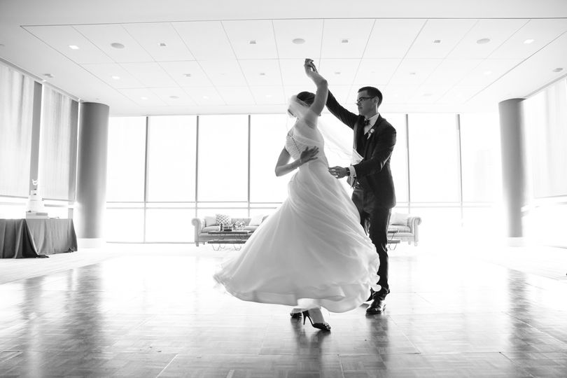 First Dance at the Legg Mason Building Wedding