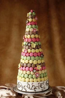 Macaroons cake