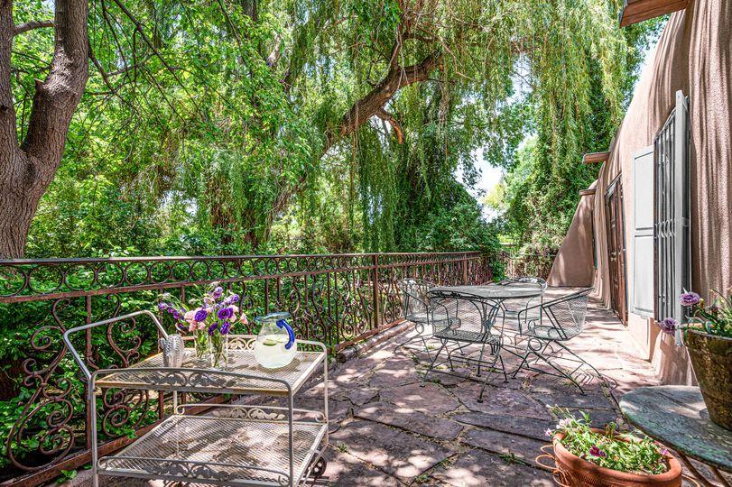 Our peaceful veranda