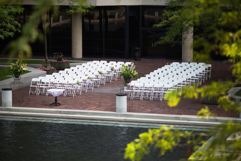 Wedding by the waters