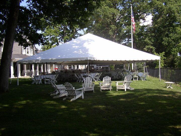 Open tent