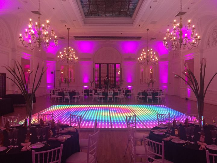 Custom design dance floor