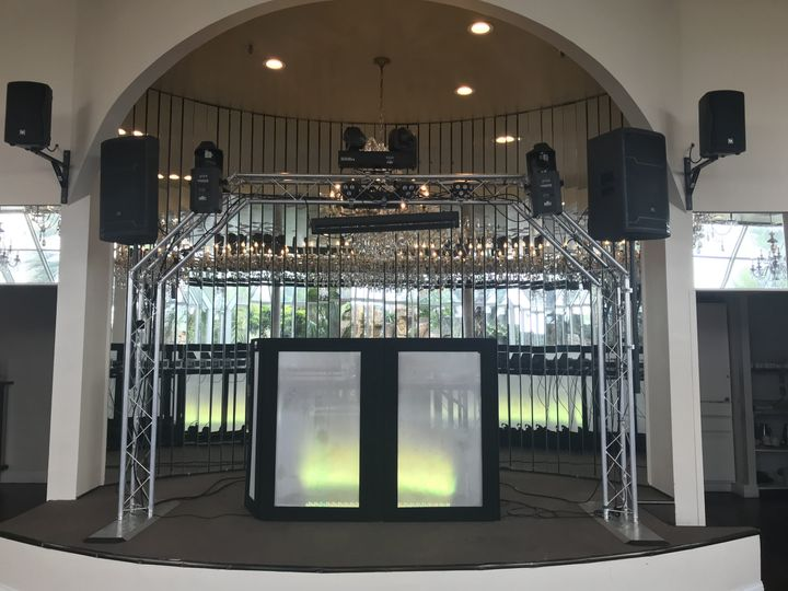 DJ Set Up OId San Francisco