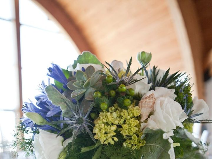 Tmx 1342035264864 Beachtable085 Stonington, Connecticut wedding florist