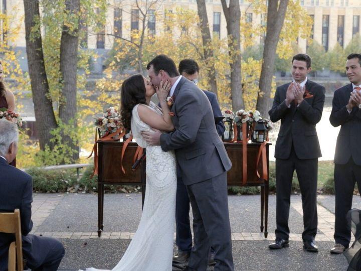 Tmx 1485547253648 Nataliepatrick Kiss Saint Paul wedding videography