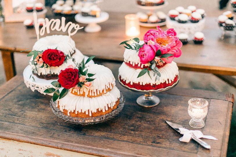 The wedding trifecta