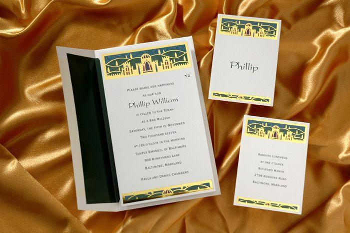 Tmx 1420752984662 Mitzvah 2 Brighton wedding invitation
