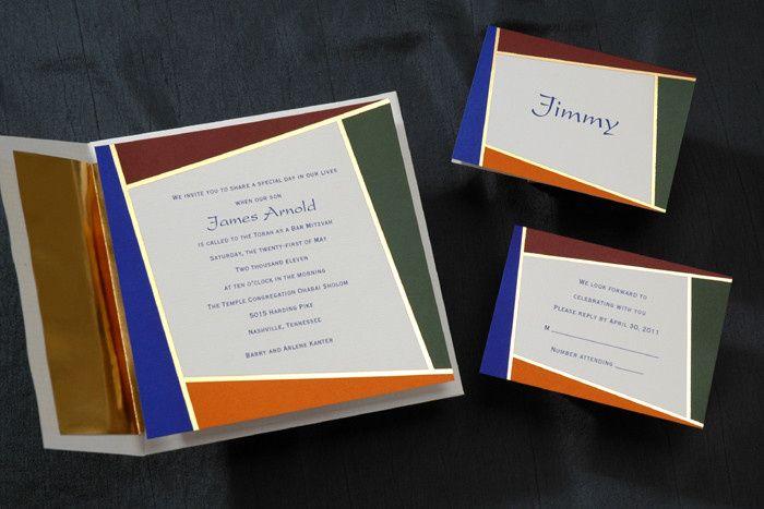 Tmx 1420752988969 Mitzvah 3 Brighton wedding invitation