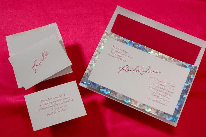 Tmx 1420752992061 Mitzvah 4 Brighton wedding invitation