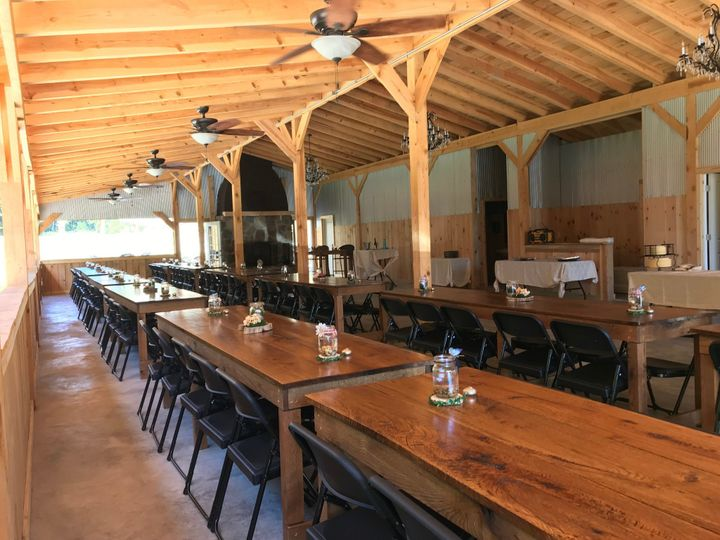 Farm-style tables