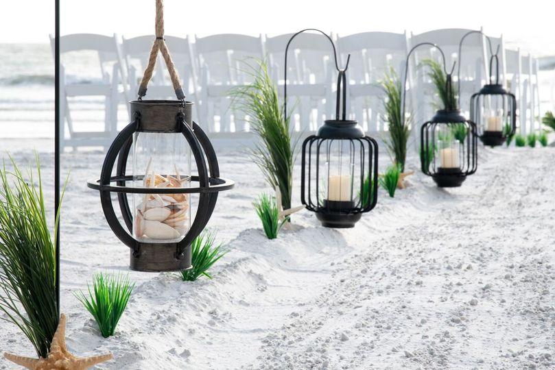 Shepherd hooks & lanterns