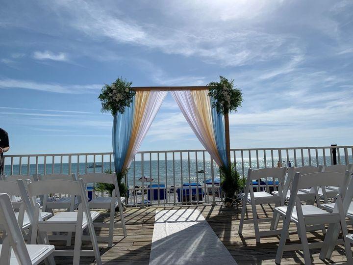 Ceremony on Mid Deck