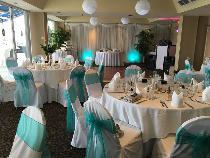 Teal Reception