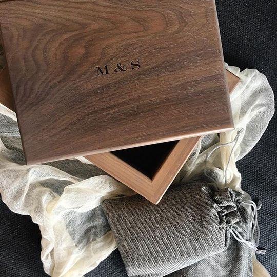 Custom Wedding Keepsak - M & S