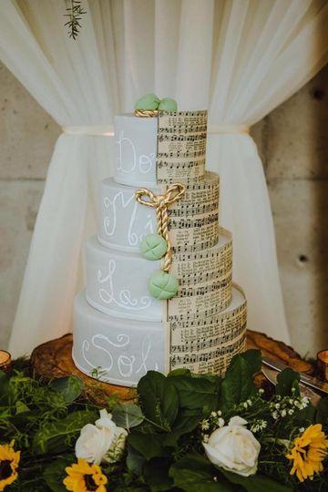 Music Wedding Cake