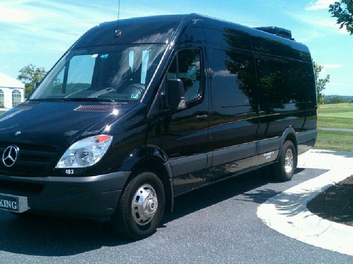 Tmx 1433783717018 King Sprinter Outside King Of Prussia wedding transportation