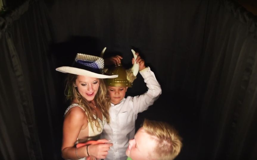 Inside the Photo Booth