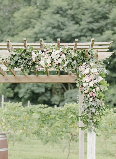 Pergola at the Ceremony Site
