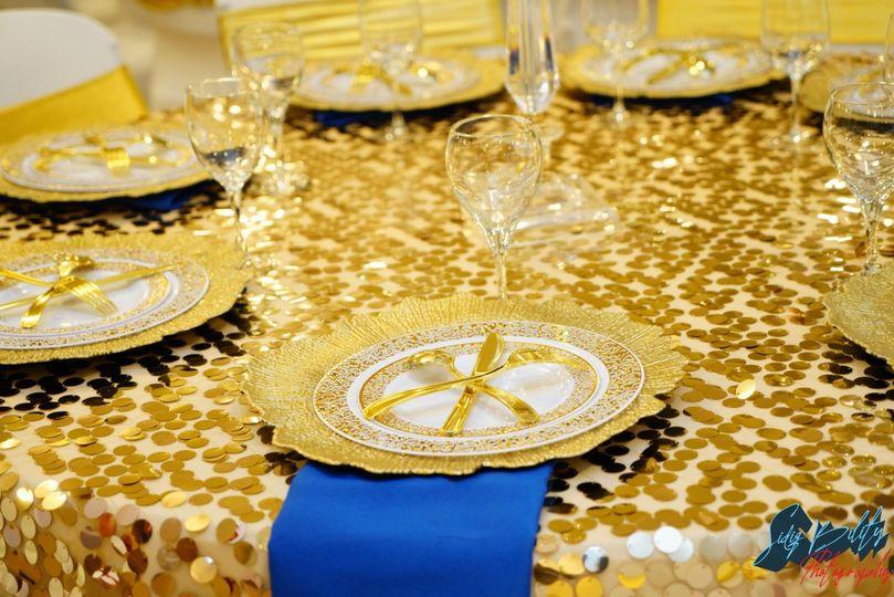 STANDARD TABLE SETUP