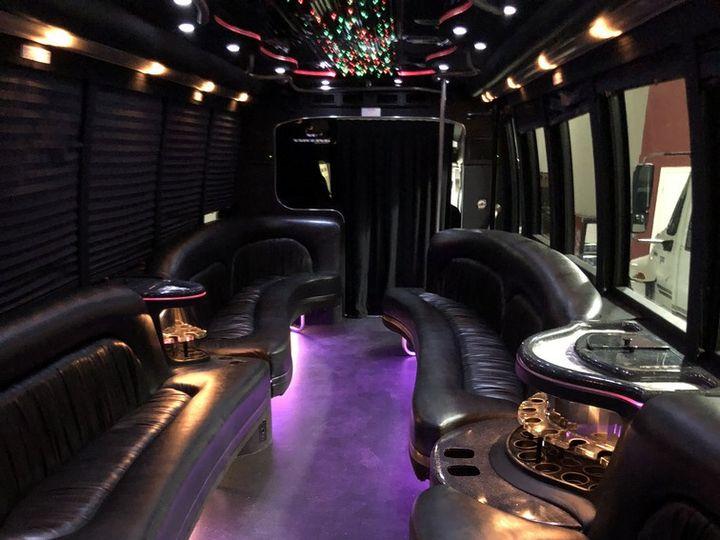 Tmx 30 Pass Limo Bus 51 705901 Solon, OH wedding transportation