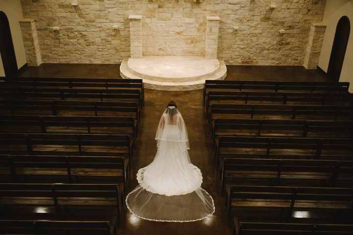 Here Comes the Bride in Chapel