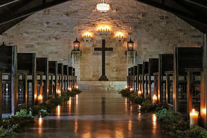 Decor in the Chapel