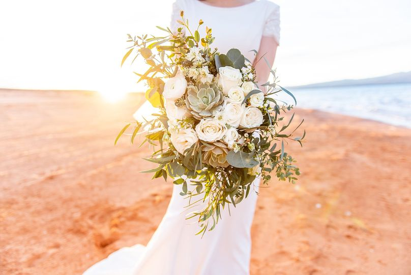Beach Side Bride