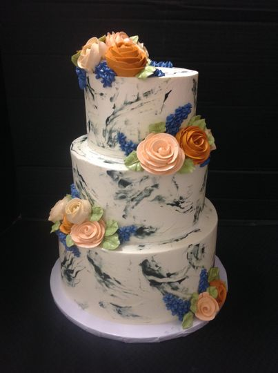 Marbled Buttercream