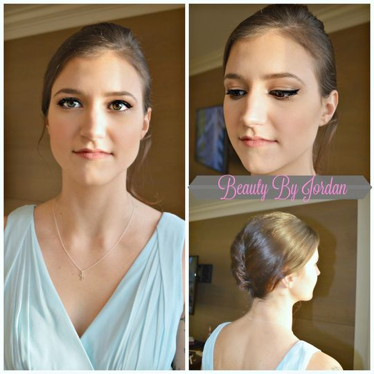 Maid of Honor Makeup and Hair