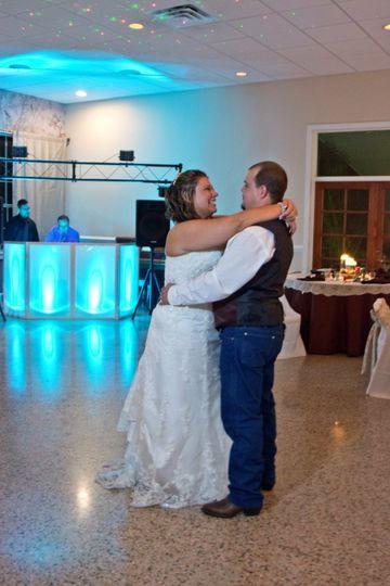 Private bride & groom dance