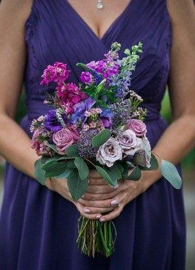 Violet floral