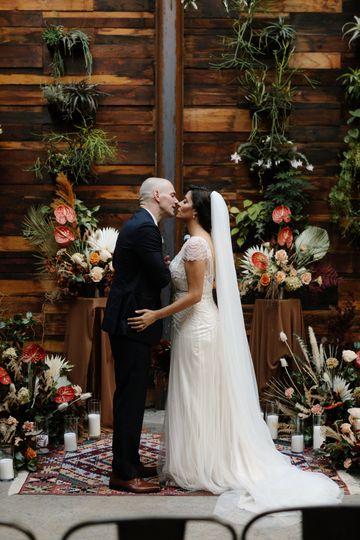 Boho Wedding Background