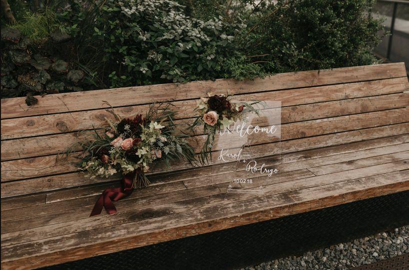 The wedding bench
