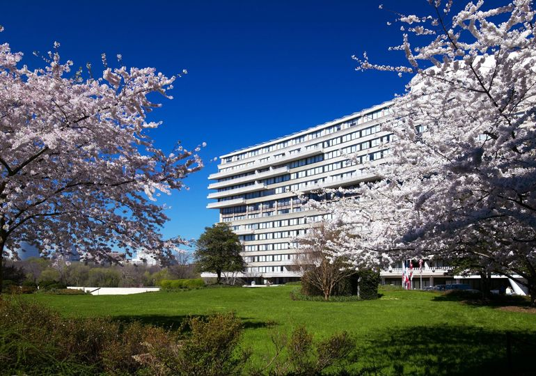 Exterior of The Watergate Hotel