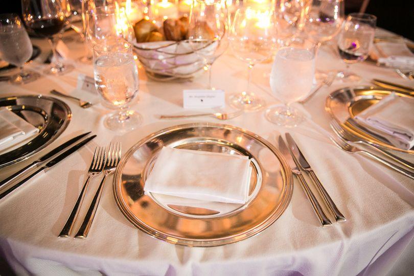 Elegant Wedding setting