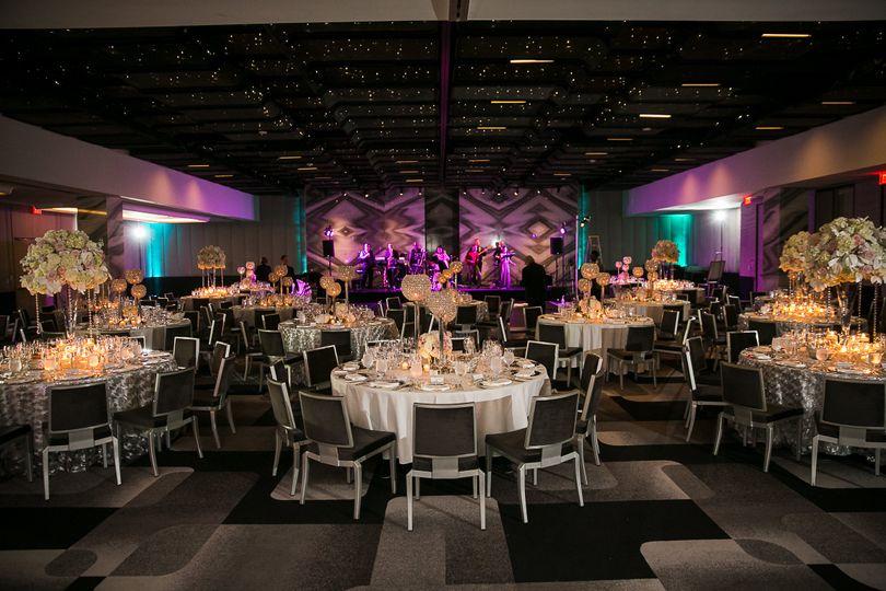 Ballroom reception in 2018