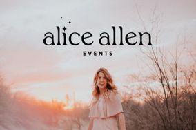 Alice Allen Events