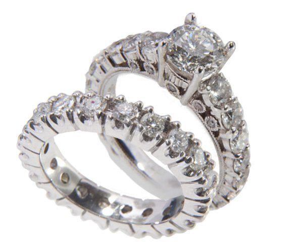 Tmx 1357494099714 Eternityset Vienna, VA wedding jewelry