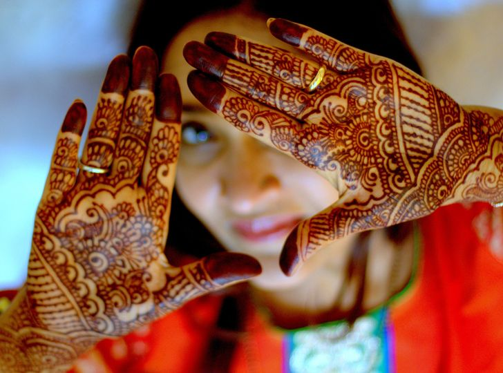 Mehndi Makeup Review : Henna harmony beauty health herndon va weddingwire
