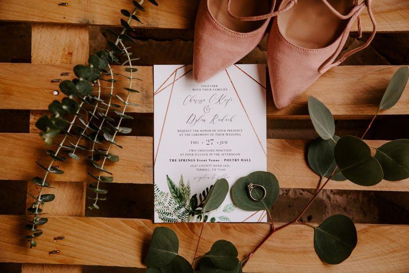 Invitation - Abby Shadle Photo
