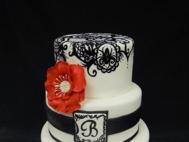 Tmx 1334022456874 Cakes0062 Clearfield wedding cake
