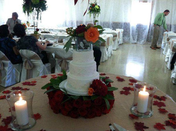 Tmx 1334022709886 RosselliWedding Clearfield wedding cake