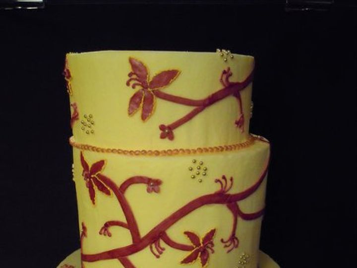 Tmx 1334022928565 Yellow Clearfield wedding cake