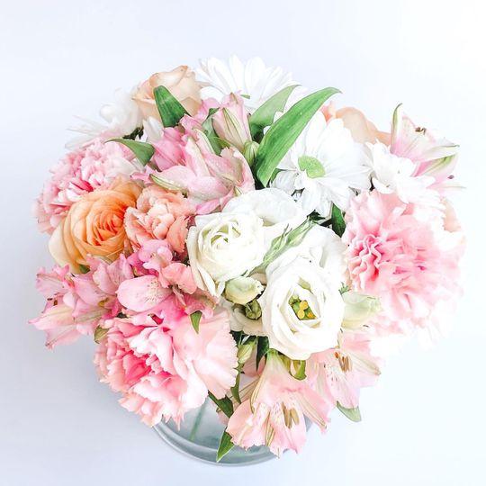 Blooming pink hues