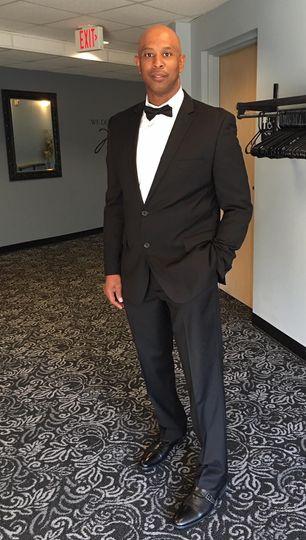Dapper tuxedo