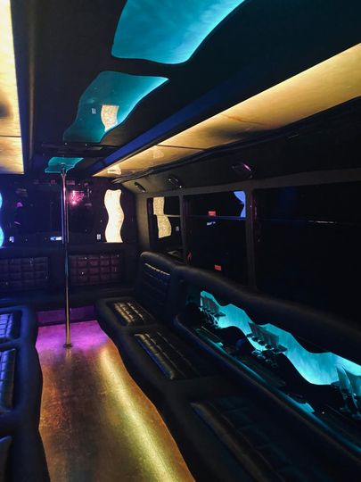 Inside Pro Star Bus